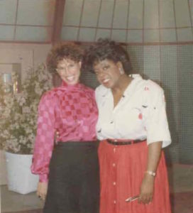 Judy with Oprah Winfrey