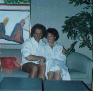 Judy with Richard Simmons